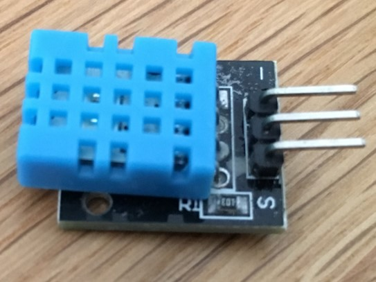 [Arduino] KY-015 温湿度センサ(Temperature and humidity sensor module)  – 37 in 1 Sensors kit for Arduino