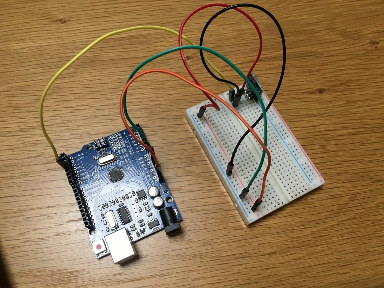 [Arduino] KY-002 Shock Sensor(SW-18015 ?)を動かしてみる – 37 in 1 Sensors kit for Arduino